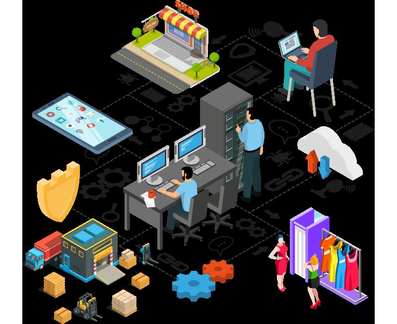批發流程 | 完善網上銷售系統 | OrangeBox 韓國時裝批發